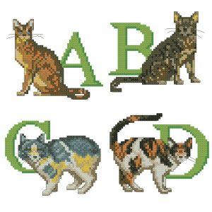 Азбука за котки