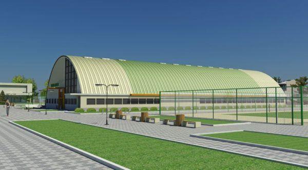 Arched hangarima montažni fotografija cijenu