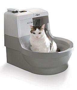 Automatická toaleta pre mačky