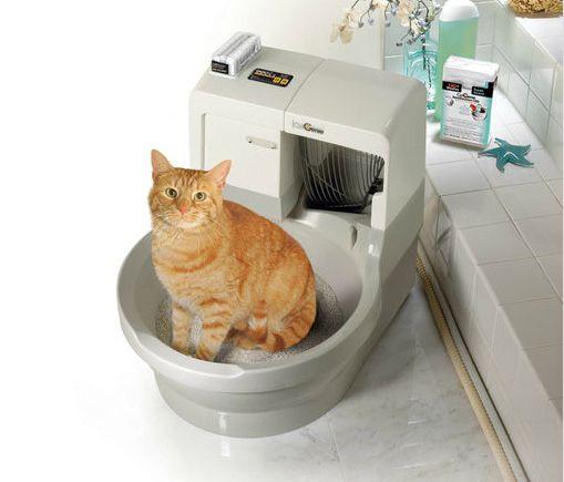 Toaleta pre mačky Automatické