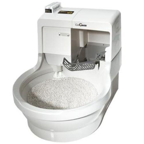 Автоматична тоалетна за котки