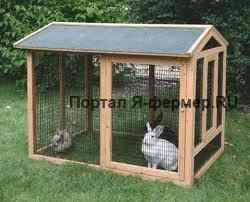 klietky pre králiky s rukami