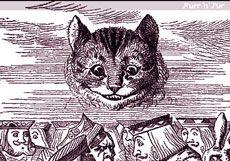 Cheshire Cat, imaginea este din cartea