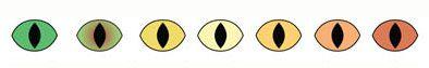 Farba očí so zníženou hustotou pigmentu
