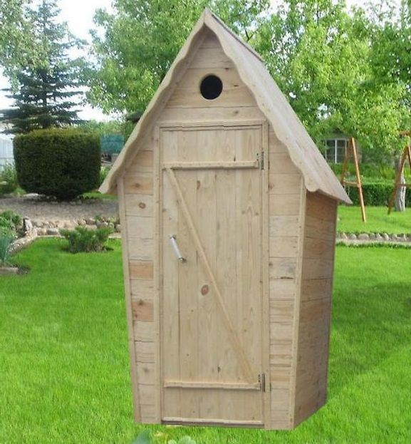Toaletă cabana din lemn vinde stoc