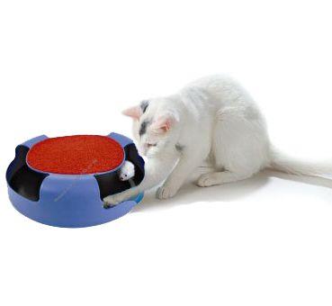 Мишка капана котка играчка
