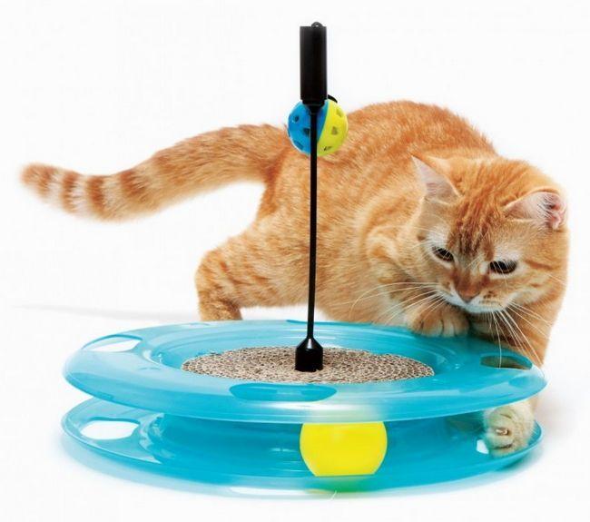 Interaktívne hračky pre mačky
