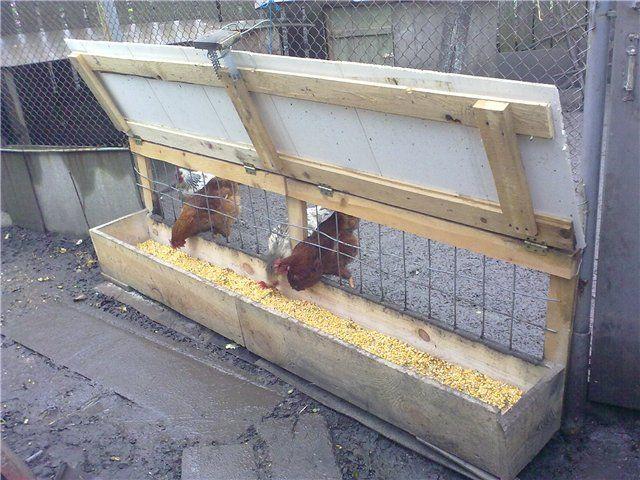 Un flux plin feeder simplu pasăre