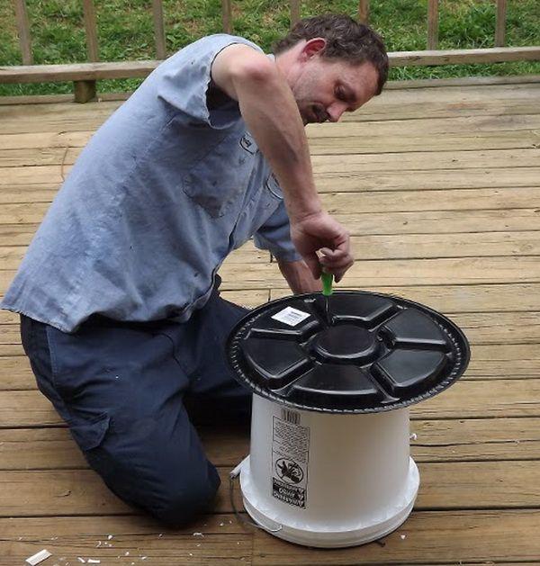 Crearea unui alimentator de găleată