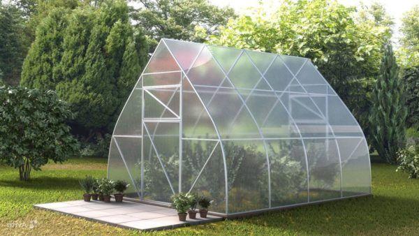 Okvir izrađen od polikarbonata plastenika cijene