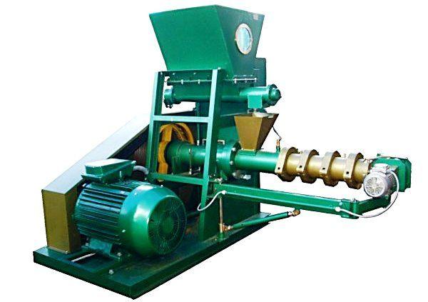 Extrudér pre výrobu krmív