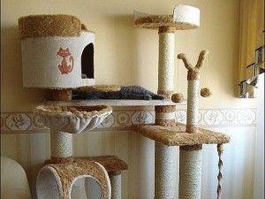 Domy, Škrabadlá pre mačky