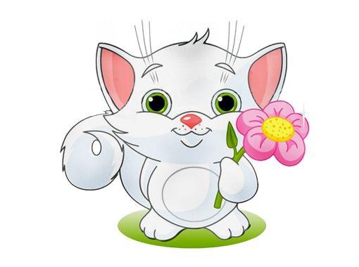 Cat obrázky pre deti ťahané 4
