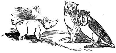 Edward Lear Cat i Owl Cat i Edward Lear Edward Lear Owl, Cat i Owl