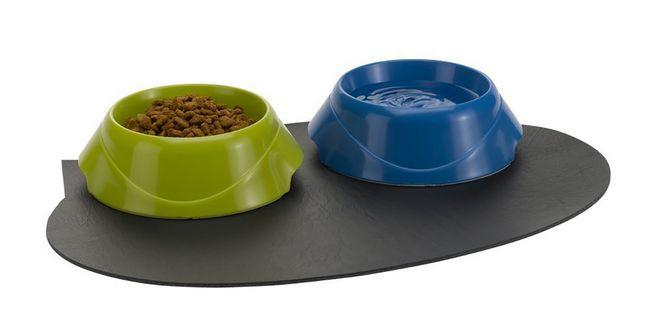 Mats za mačke zdjele
