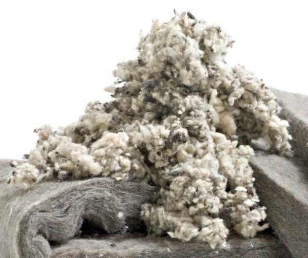 Mezhventsovogo izolácia fleece