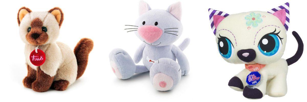 Mäkké mačacie hračky