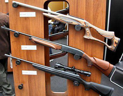 Lov užlebljenom puške Remington