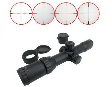 Karakteristike prizor Leapers UTG za pneumatske oružje