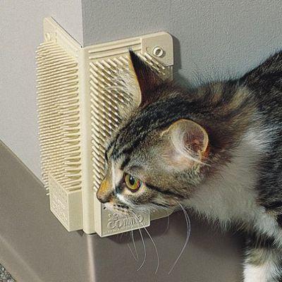 Rohový kefa pre mačky
