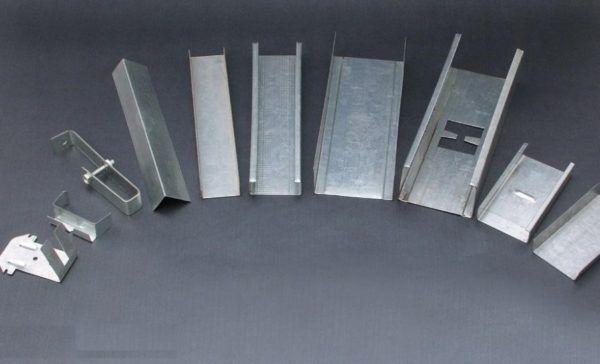 Profil pentru dimensiuni si tipuri de gips-carton