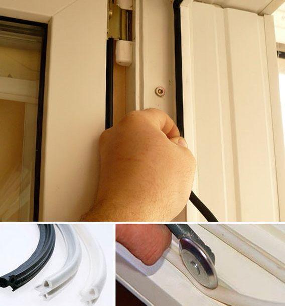 Reparație de uși de plastic provocare balcon pentru a stăpâni