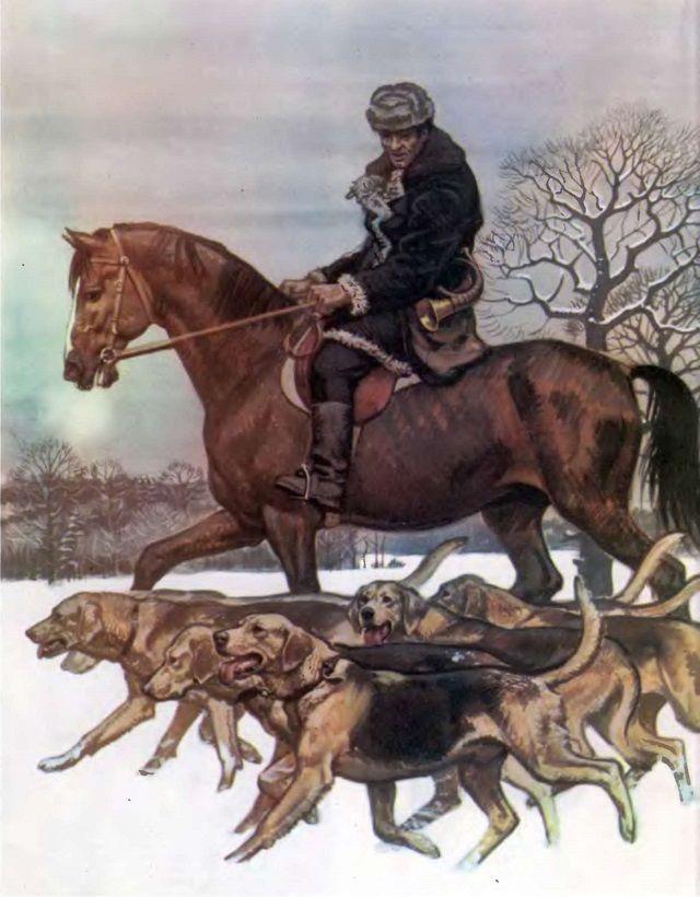 Hound rus - un vis de orice vânător
