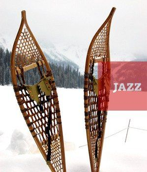 Self-made skije za lov