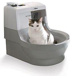 Самопочистваща тоалетна за котки