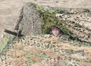 Skradok - cel mai bun camuflaj pe o vânătoare de gâscă