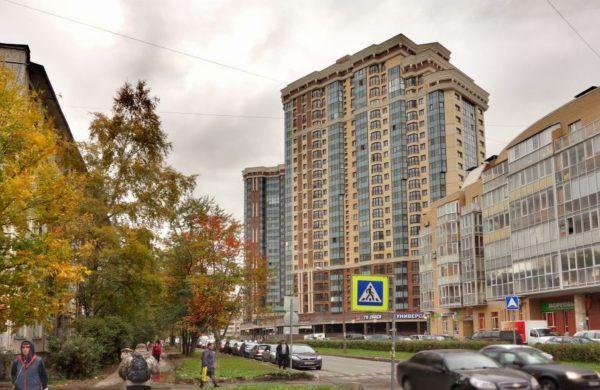 Najam apartmana-studio u St. Petersburgu, bez posrednika za dugoročno