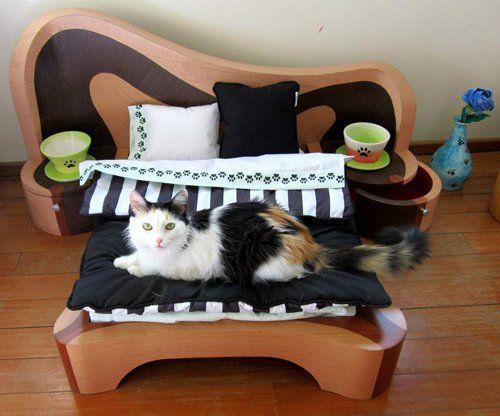 Spálňa pre chlpaté domácich miláčikov
