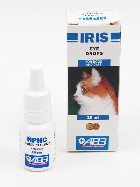 Kvapky Iris mačky v balení