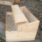 cutie de lemn de casă