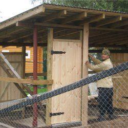 Procesul de construire a unei case din lemn găină