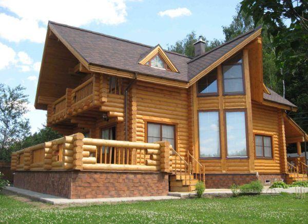 Construcție de case din busteni pentru proiectele si cheie de pret