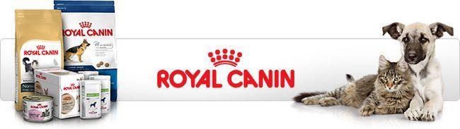 Rôzne Royal Canin krmivo pre domáce zvieratá pre psov a mačky