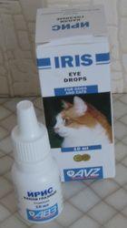 Očné kvapky Iris