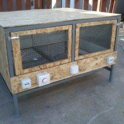 colivie de casă pentru pui
